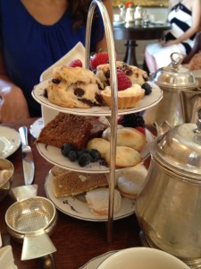 Tea at Keswick Hall- Rachael Dymski