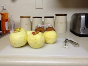 Peeled Apples- Rachael Dymski