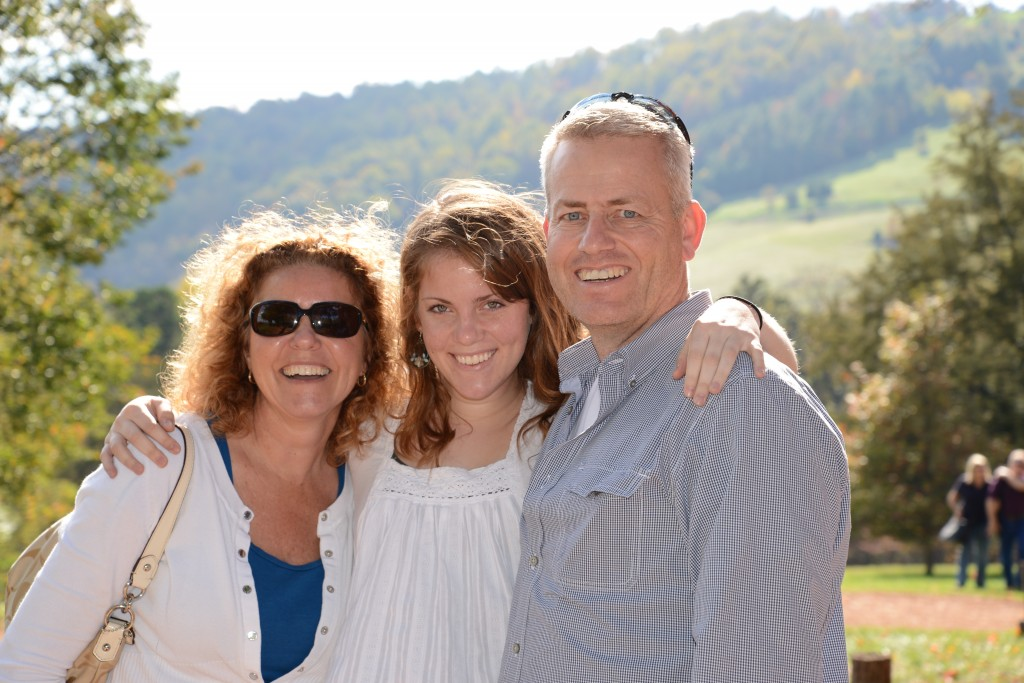 Mom, Dad and Amy- Rachael Dymski