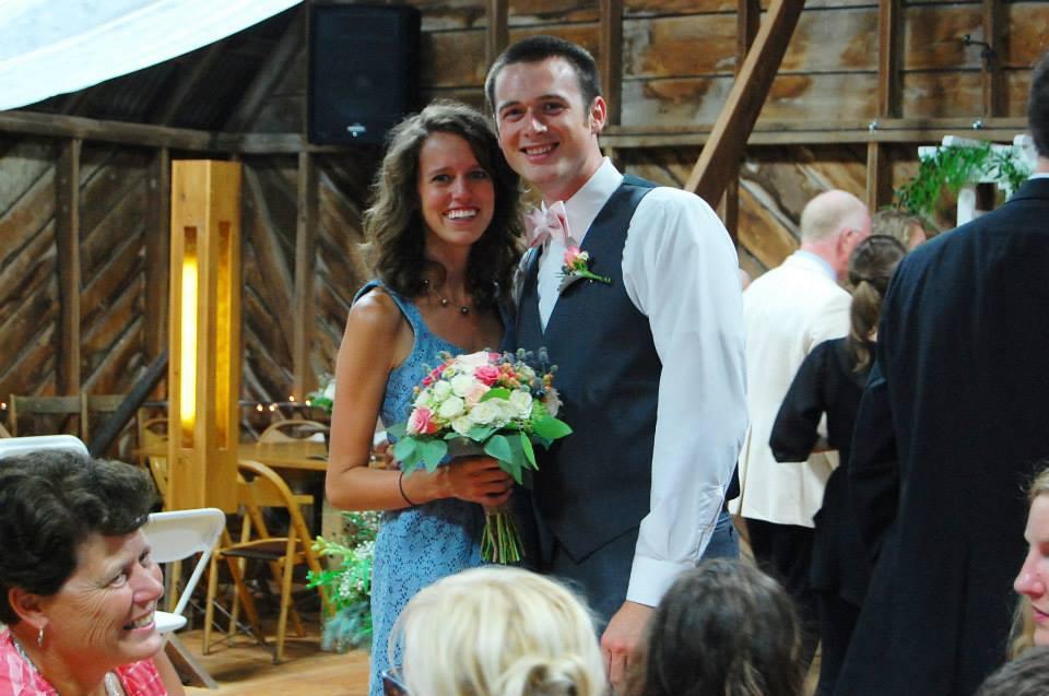 Rachael and Andrew Al's wedding