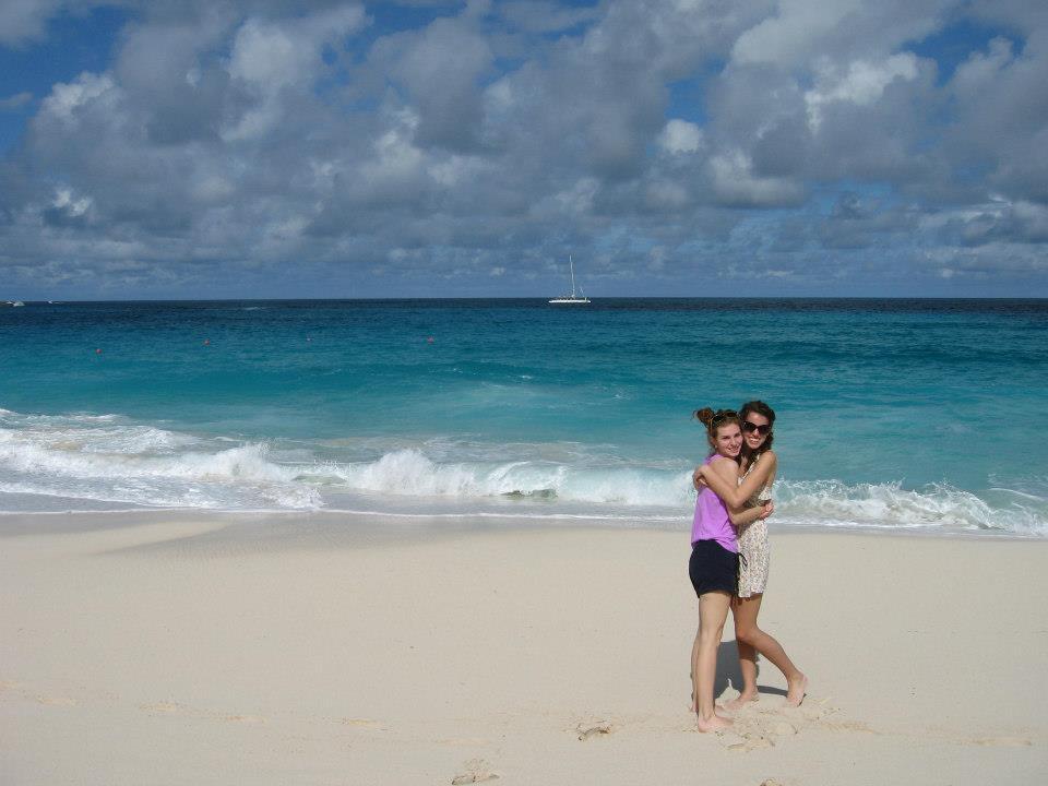 alana and rach caribbean